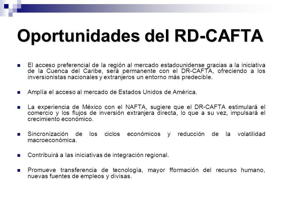 Oportunidades del RD-CAFTA