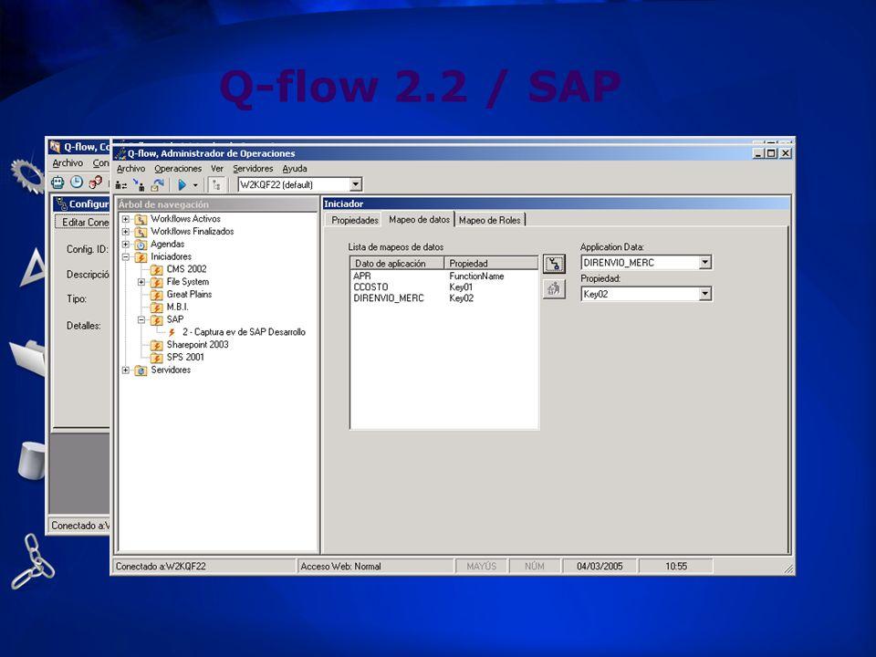 Q-flow 2.2 / SAP