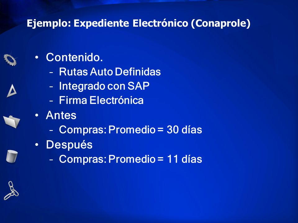 Ejemplo: Expediente Electrónico (Conaprole)