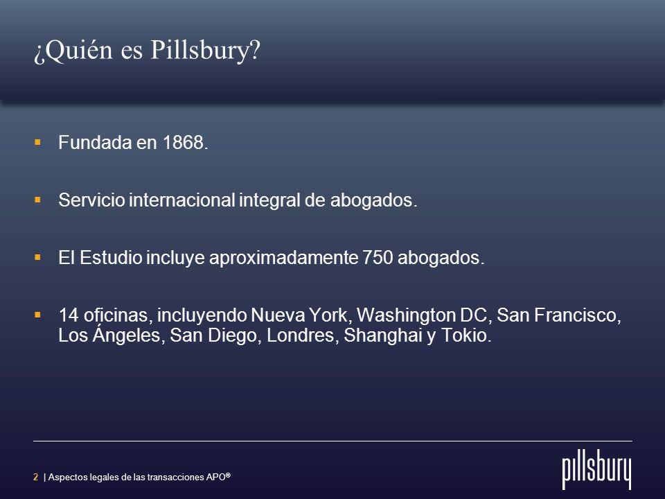 ¿Quién es Pillsbury Fundada en 1868.