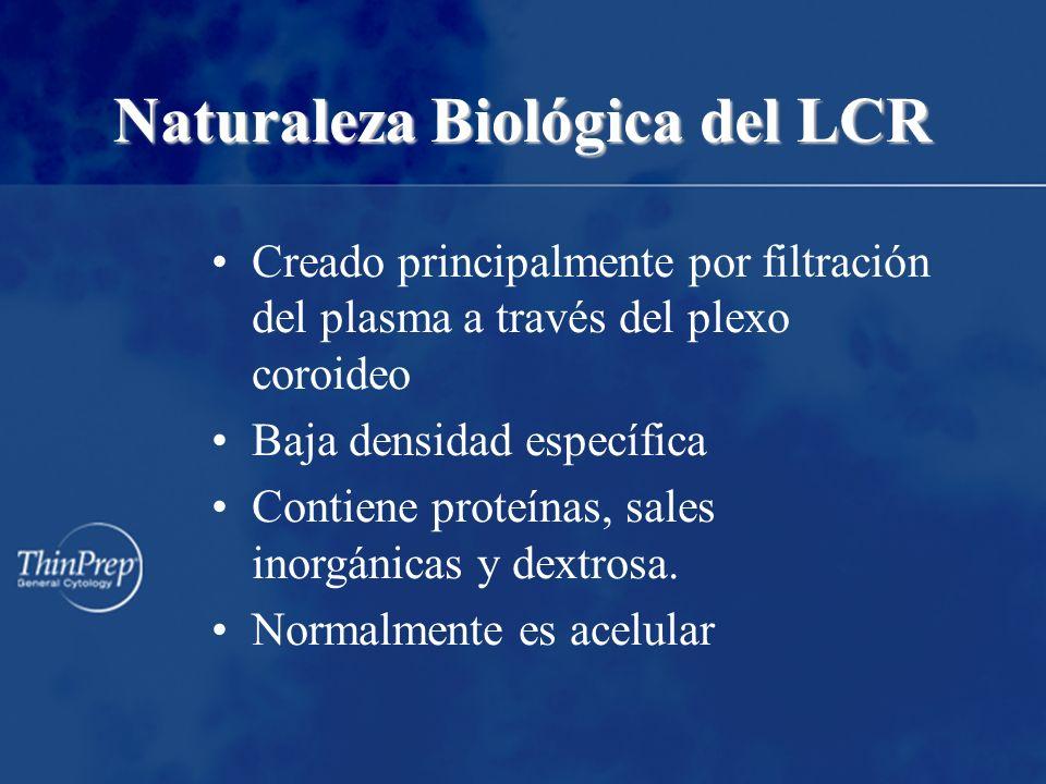Naturaleza Biológica del LCR
