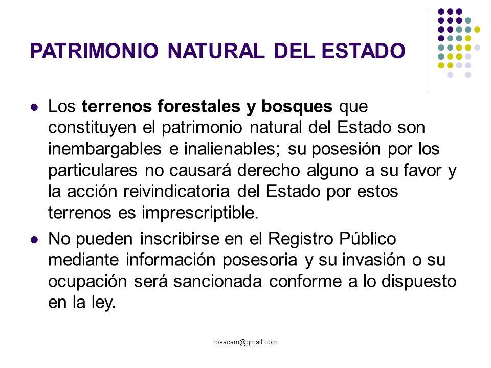 PATRIMONIO NATURAL DEL ESTADO