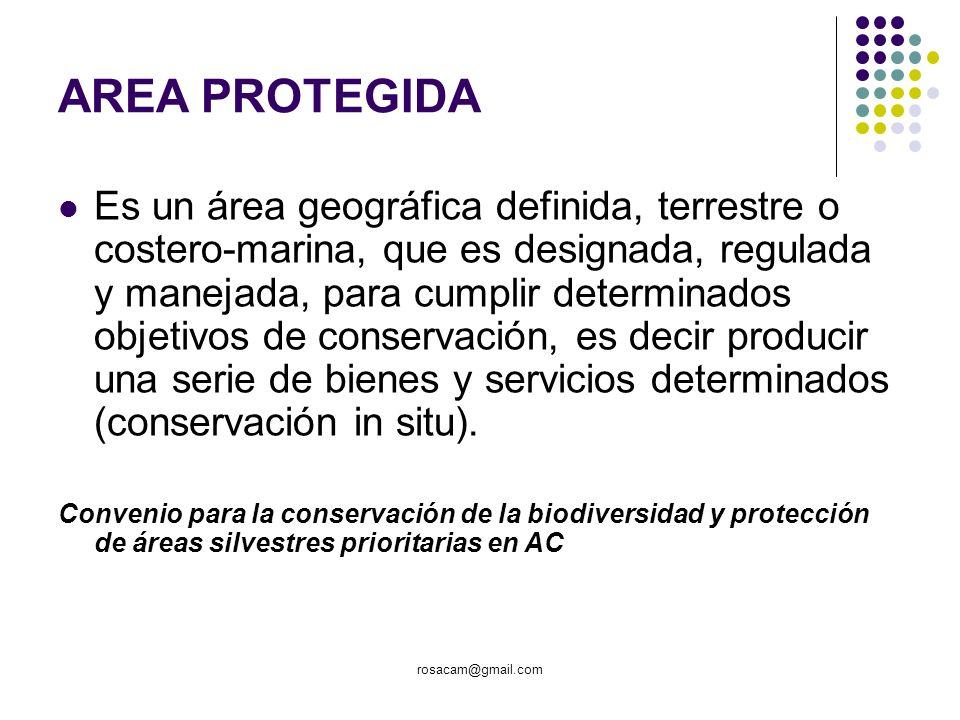 AREA PROTEGIDA