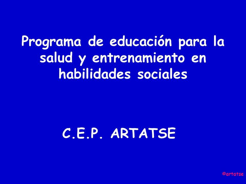 Programa de educación para la salud y entrenamiento en habilidades sociales