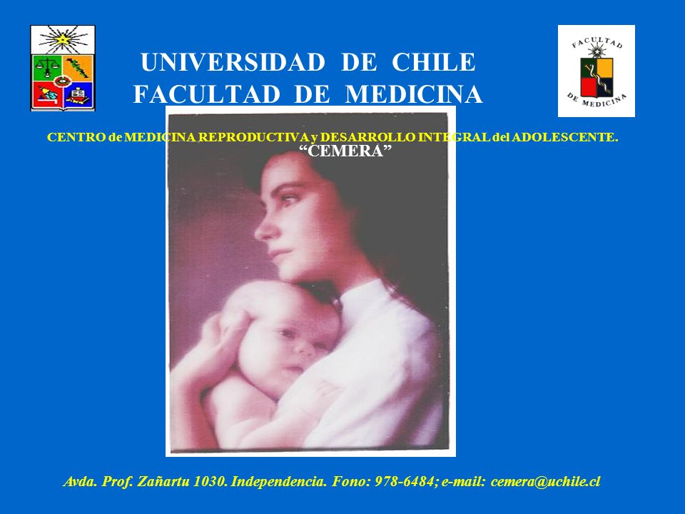 UNIVERSIDAD DE CHILE FACULTAD DE MEDICINA