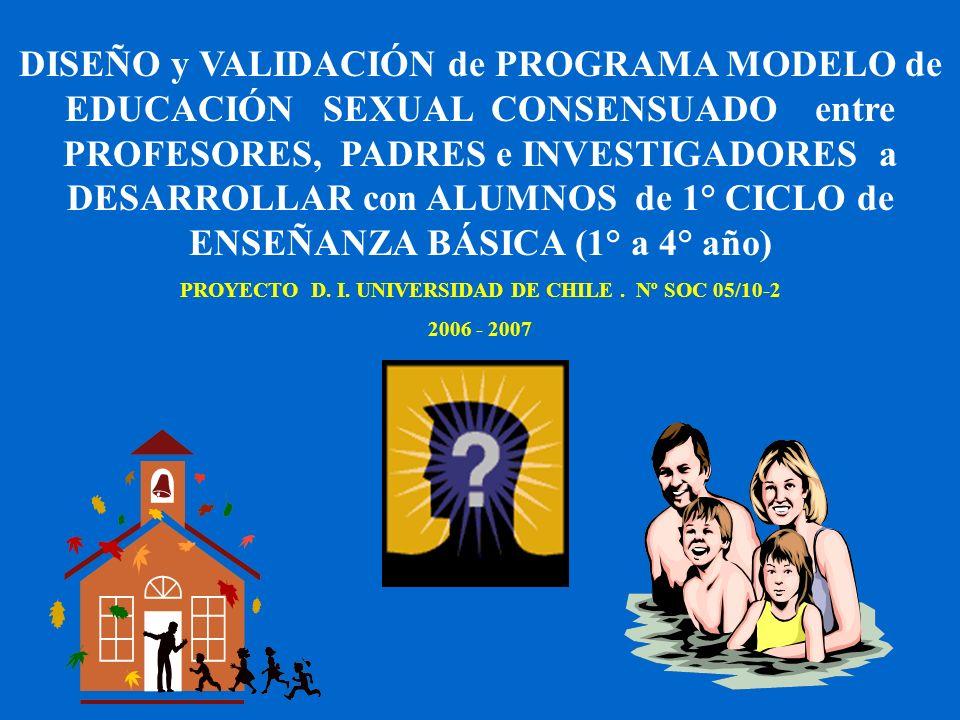 PROYECTO D. I. UNIVERSIDAD DE CHILE . Nº SOC 05/10-2
