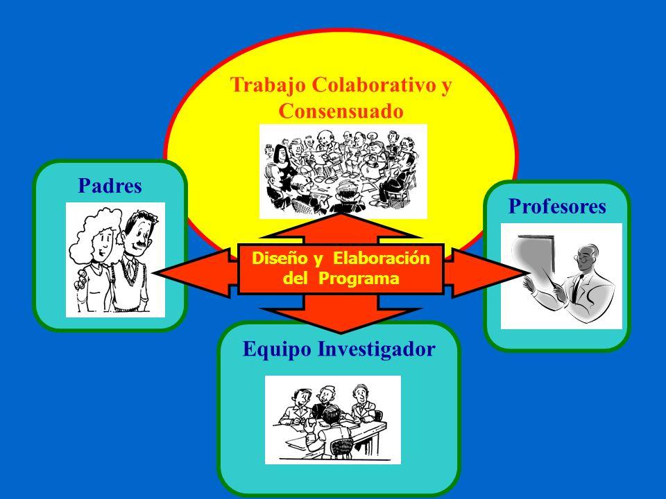 Trabajo Colaborativo y Consensuado Diseño y Elaboración del Programa