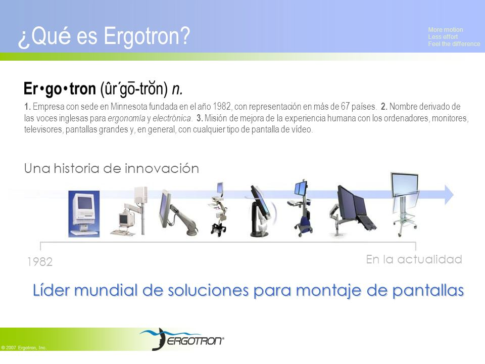¿Qué es Ergotron
