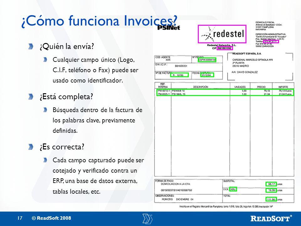 ¿Cómo funciona Invoices
