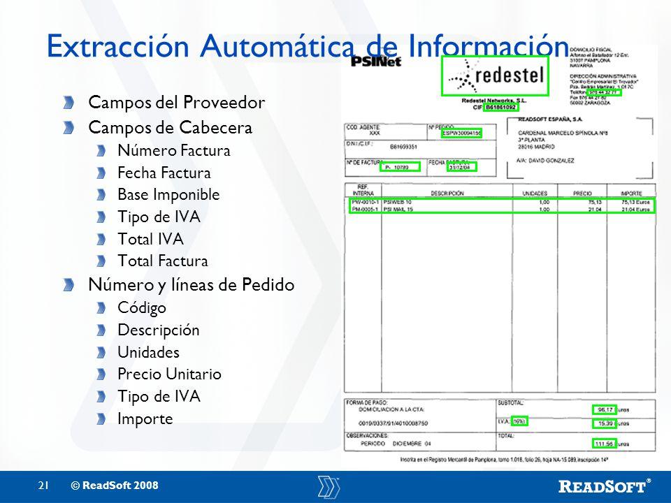 Extracción Automática de Información