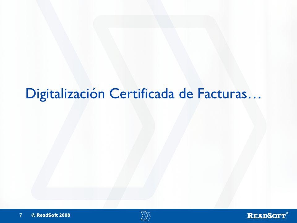 Digitalización Certificada de Facturas…