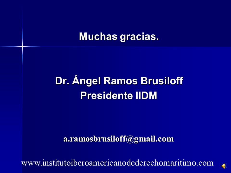 Dr. Ángel Ramos Brusiloff