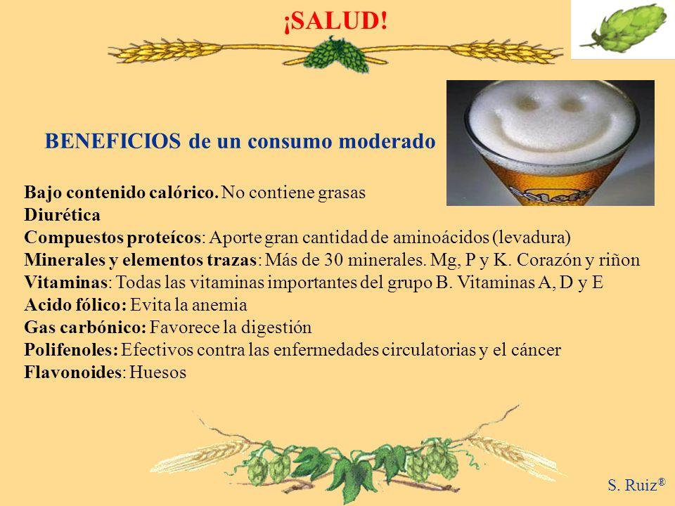 ¡SALUD! BENEFICIOS de un consumo moderado
