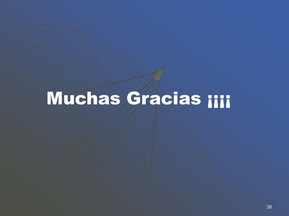 Muchas Gracias ¡¡¡¡