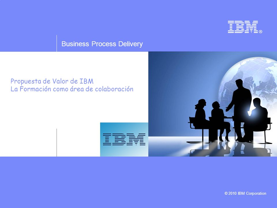 Propuesta de Valor de IBM La Formación como área de colaboración