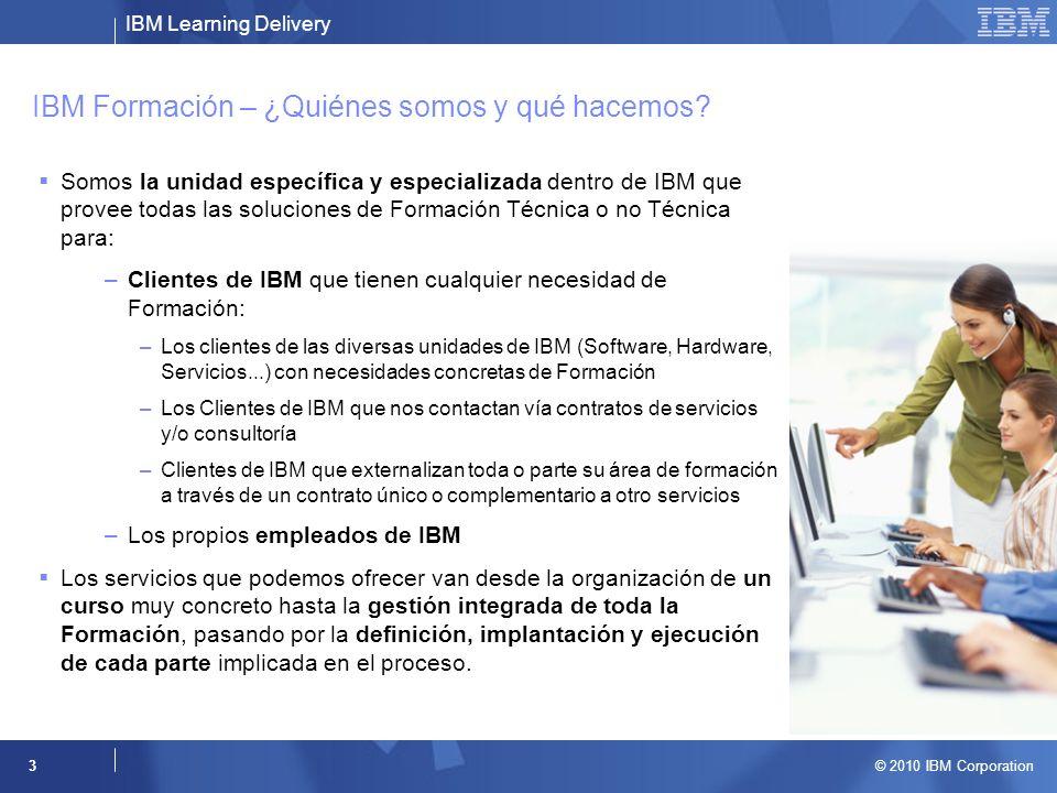 IBM Formación – ¿Quiénes somos y qué hacemos