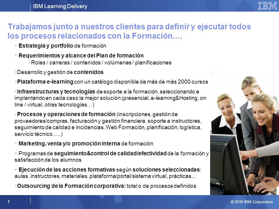 Trabajamos junto a nuestros clientes para definir y ejecutar todos los procesos relacionados con la Formación….