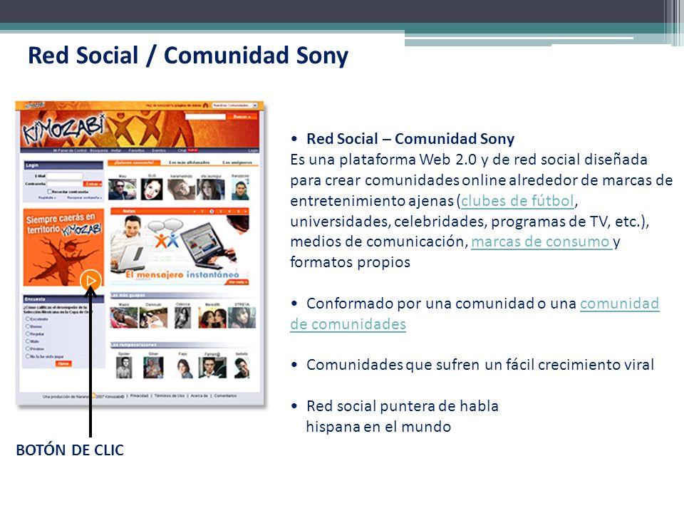 Red Social / Comunidad Sony