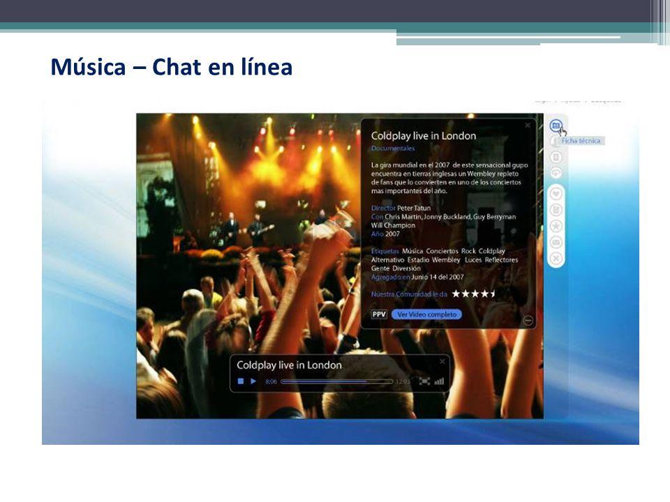 Música – Chat en línea