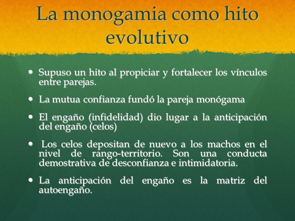 La monogamia como hito evolutivo