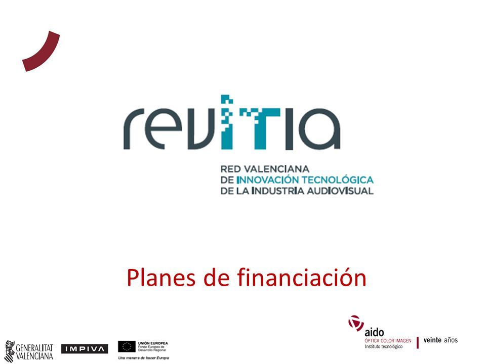 Planes de financiación