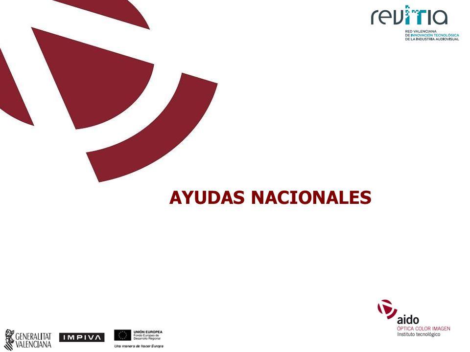 AYUDAS NACIONALES