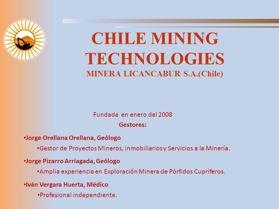 CHILE MINING TECHNOLOGIES MINERA LICANCABUR S.A.(Chile)