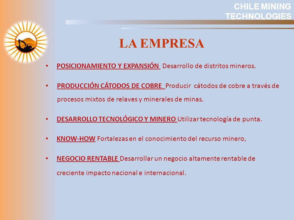LA EMPRESA CHILE MINING TECHNOLOGIES