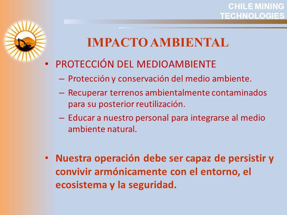 IMPACTO AMBIENTAL PROTECCIÓN DEL MEDIOAMBIENTE