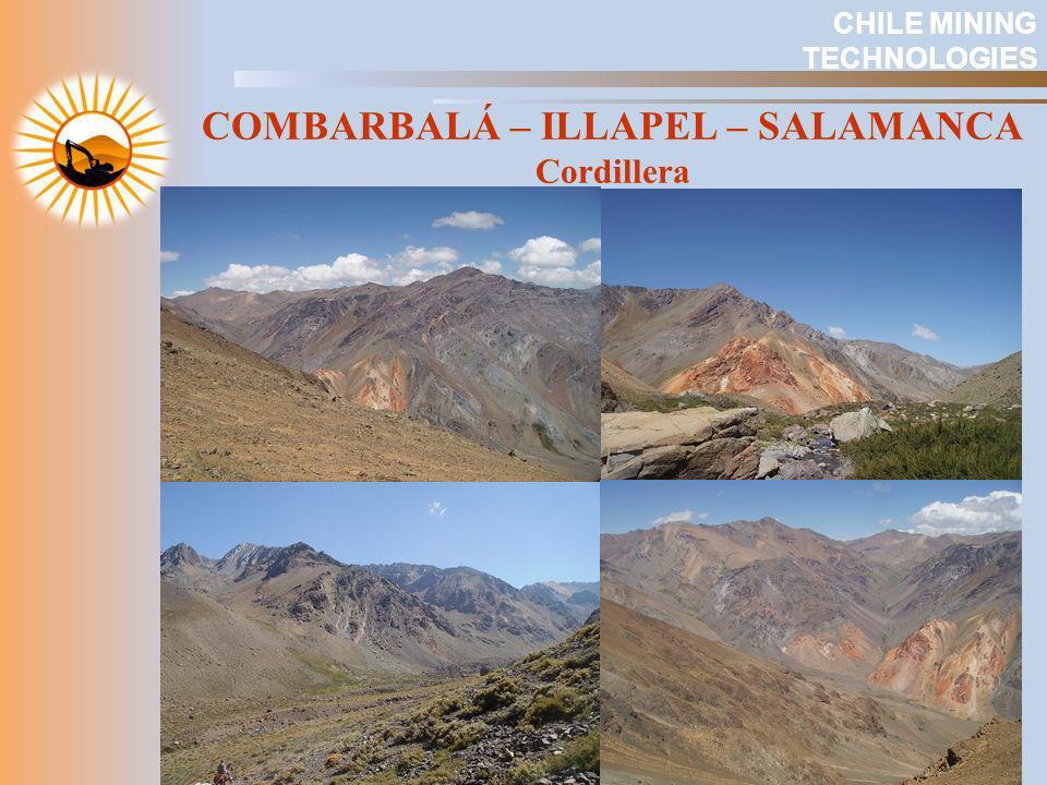 COMBARBALÁ – ILLAPEL – SALAMANCA Cordillera