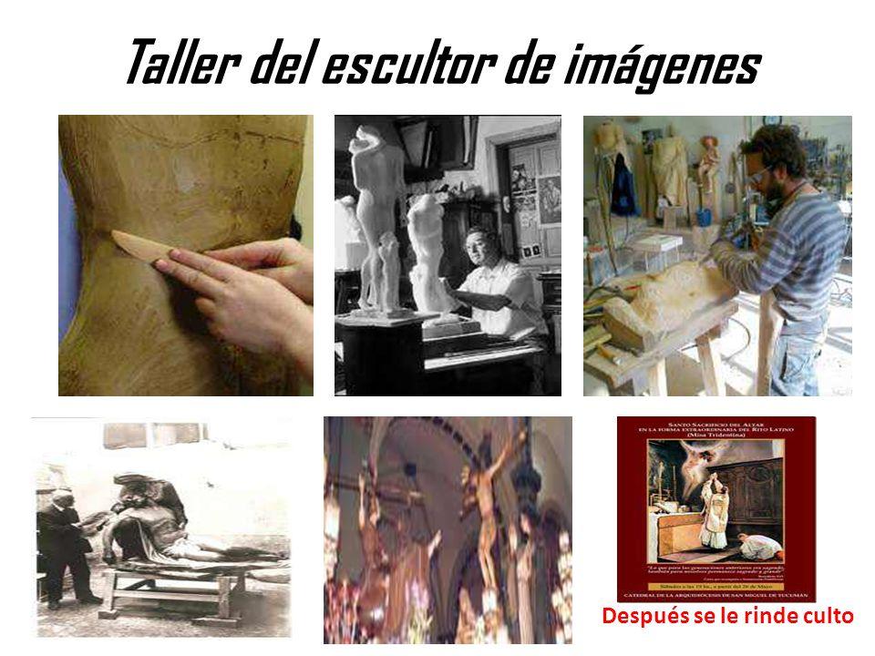 Taller del escultor de imágenes
