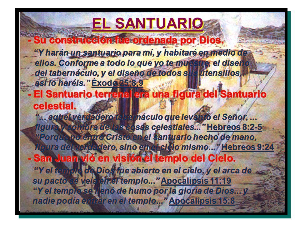 EL SANTUARIO - Su construcción fue ordenada por Dios.
