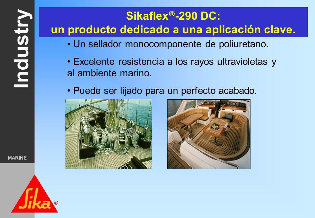 Sikaflex-290 DC: un producto dedicado a una aplicación clave.