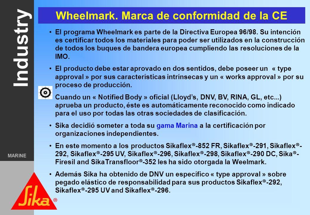 Wheelmark. Marca de conformidad de la CE