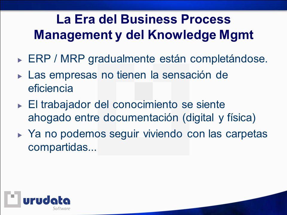 La Era del Business Process Management y del Knowledge Mgmt