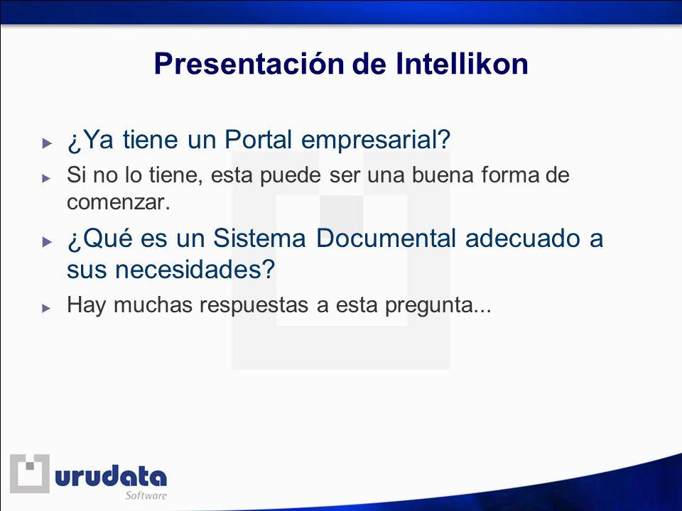 Presentación de Intellikon