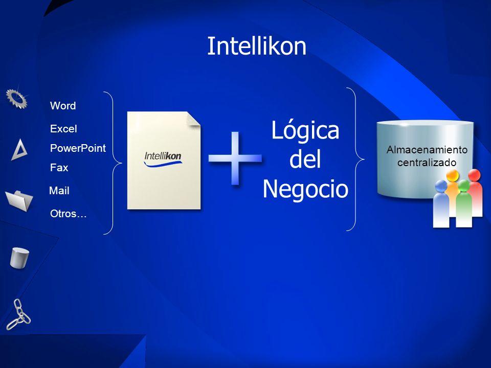 Intellikon Lógica del Negocio Word Excel PowerPoint Almacenamiento