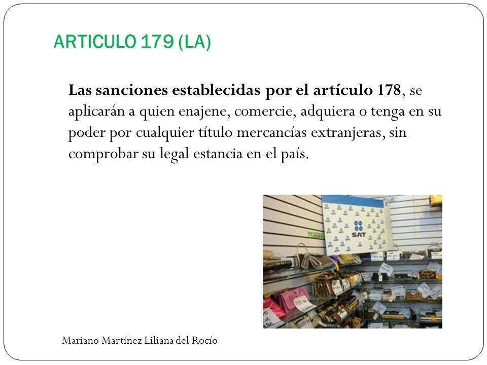 ARTICULO 179 (LA)