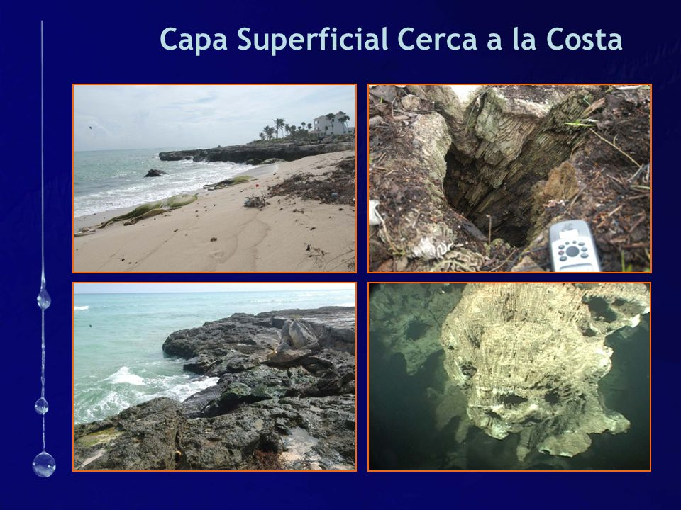 Capa Superficial Cerca a la Costa