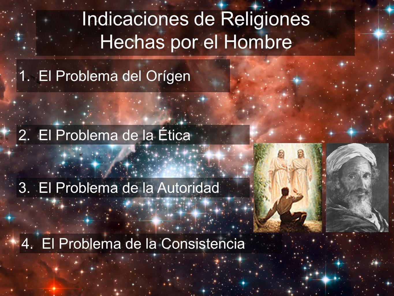 Indicaciones de Religiones Hechas por el Hombre