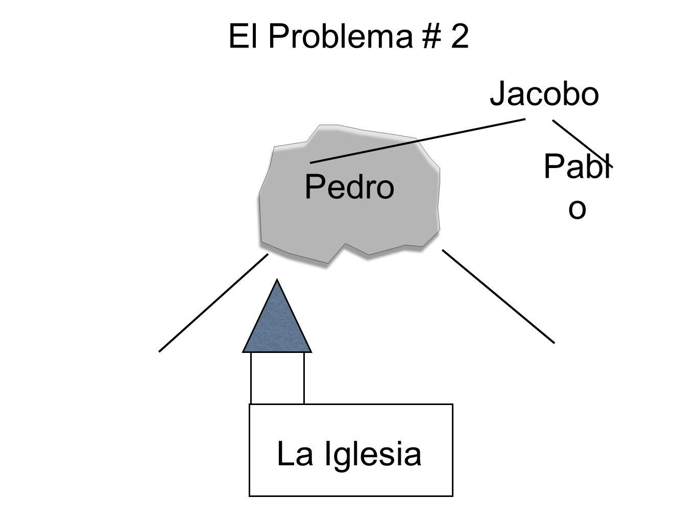 El Problema # 2 Jacobo Pedro Pablo La Iglesia