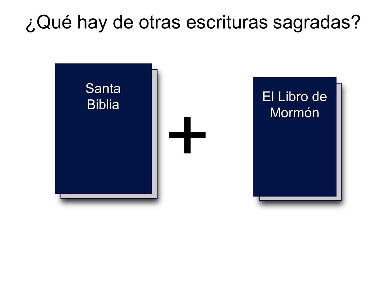 ¿Qué hay de otras escrituras sagradas