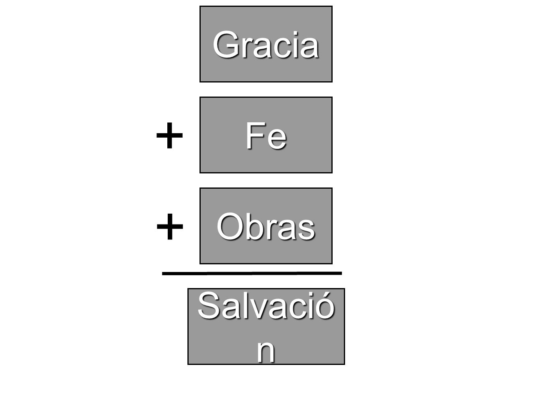 Gracia Fe + Obras + Salvación