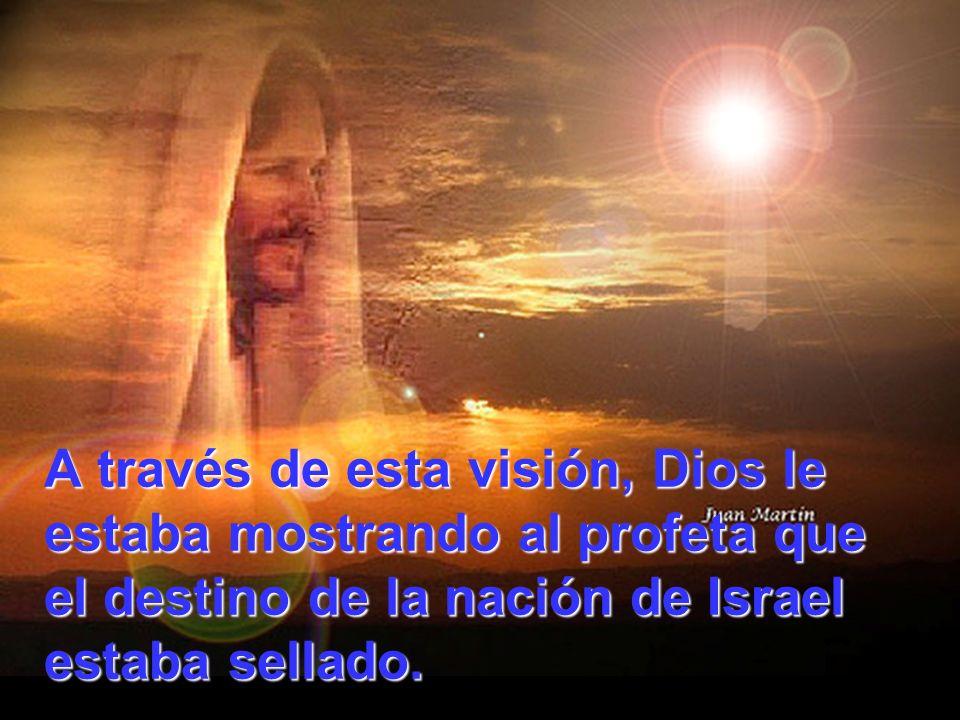 A través de esta visión, Dios le estaba mostrando al profeta que el destino de la nación de Israel estaba sellado.