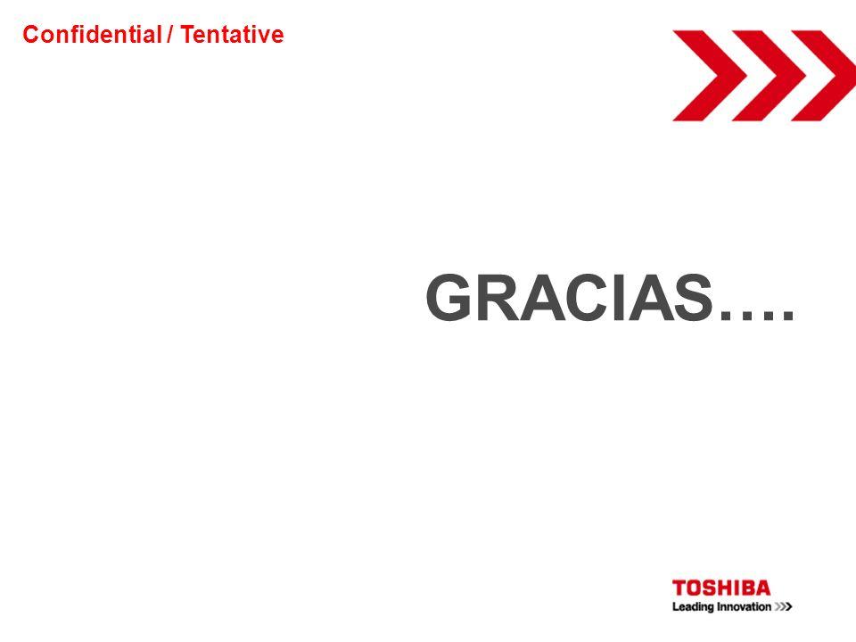 Confidential / Tentative