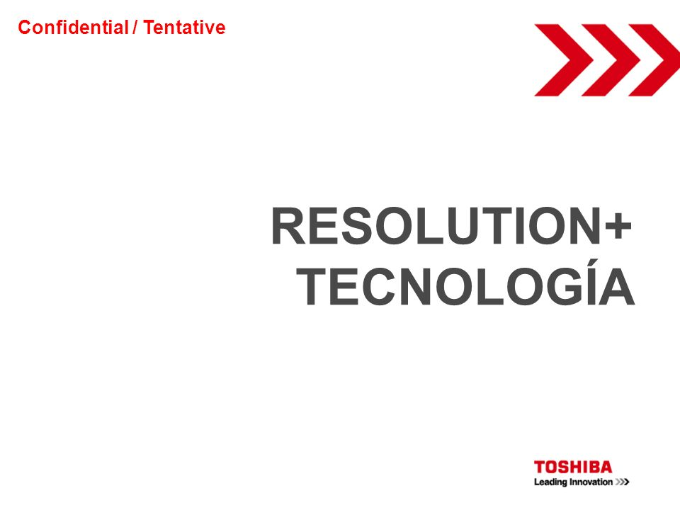 RESOLUTION+ TECNOLOGÍA