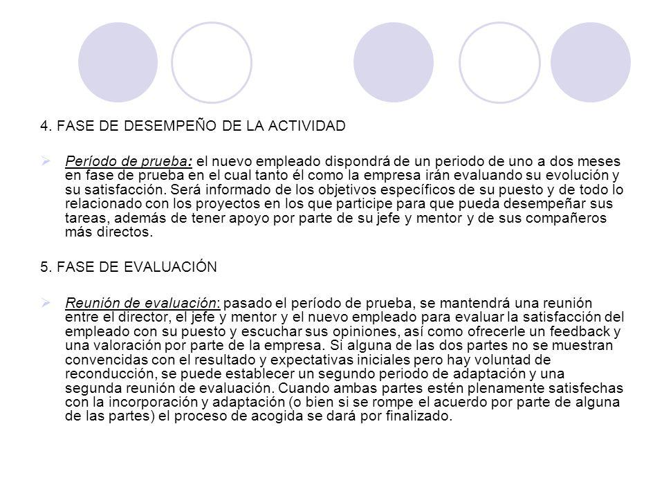 4. FASE DE DESEMPEÑO DE LA ACTIVIDAD