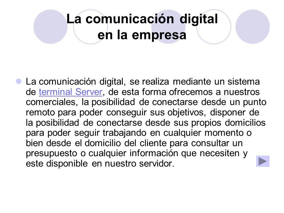 La comunicación digital en la empresa