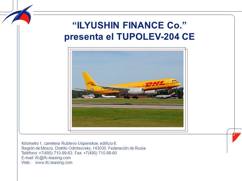 presenta el TUPOLEV-204 CE