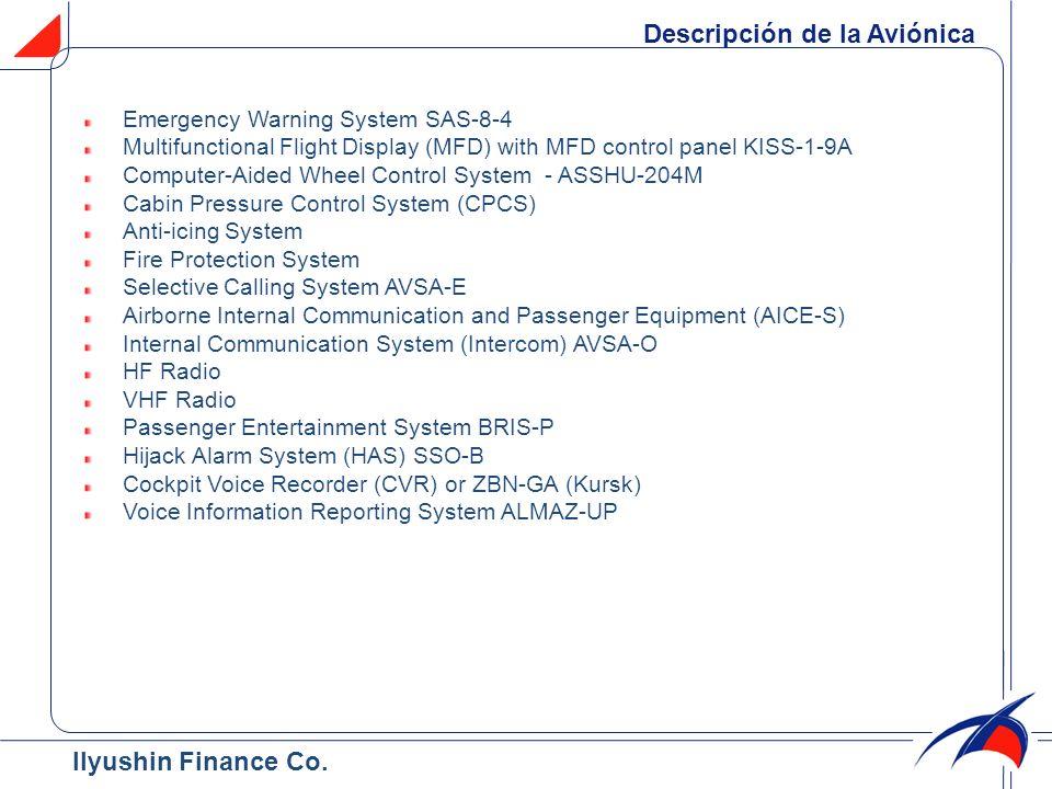 Descripción de la Aviónica